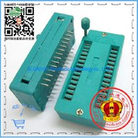 Wholesale Foot Test - Wholesale-Free shipping .28P IC activities seat (wide body) 28-pin test socket 28P locking seat 28 feet wide body IC socket