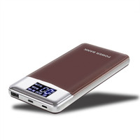 remax power bank ladegerät großhandel-Schnellladung Energie Bank 10000mAh QC3.0 Portable Schnellladegerät Externe Batterie USB Powerbank für iPhone Xiaomi Huawei
