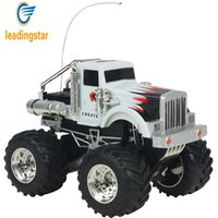 Wholesale Rc Scale Rock Crawler - Wholesale- LeadingStar Remote Control Rock Crawlers Bigfoot Car 4 Channel 1:43 Scale RC Off-road Vehicle Model Toy Gift for Kids zk35