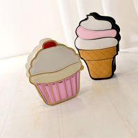 Wholesale designer cream handbag for sale - Group buy Funny Colors Body Free Cream Handbags New Keys Mini Crossbody Cupcake Fashion Splicing Messenger Messenger Bag Purse Cross Cute Bags Ic Sakk