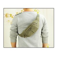 Mode Nylon Hommes Chest Sac Sling Pack Sport Outdoor One Single Shoulder Sac de taille Casual Voyage Randonnée Sac Messenger