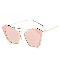 Wholesale Eye Master - Personality catwalk sunglasses sunglasses street Master colorful female trendsetter pose glasses classic brand design sunglasses L'08