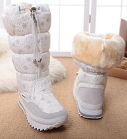 Wholesale China Fashion Working Woman - sakura winter hot selling female women boots four colour white black grey and navy botas hot selling china winter boots