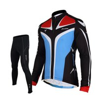 Tasdan bon marché Cyclisme Maillots de vélo Suit Maillot cyclisme Top long à manches courtes Bicycle Wear Best Men Suit Sportswear