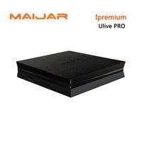 Wholesale Hd Services - 10PCS Ipremium Ulive Pro IPTV BOX HD Set Top Box 4K Stalker Iptv service Media Player Wireless Bluetooth IPTV Receiver