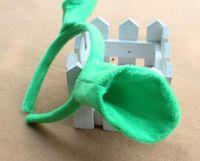 vendas circulares al por mayor-Party New Kids Cartoon Shrek Ear Headband Green Head Circle Party Cosplay Headband Halloween Christmas Party Supplies