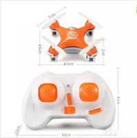 Wholesale Uav Drone Rc - Cheerson Drone CX-10 4CH 6 Axis Gyro UAV with LED Lights 3D Flips Rolls Mini Quadcopter RC Helicopter Electronic Toy Aircraft