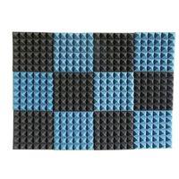 cheap 24pcs acoustic treatments recording studio soundproof foam convoluted sound pyramid foam noise elimination home decor