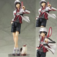 Wholesale Tennis Prince Figure - The Prince of Tennis cartoon figure Ryoma Echizen SEIGAKU anime collection Decorate box-packed brinquedos Christmas gift T7354