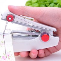 Wholesale Stitch Bedding - New Sewing Machine Portable Mini Stitch Hand Held Handheld Travel Household quick repairs or jobs