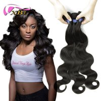 Wholesale discount virgin hair - Wholesale Price Within 50% Discount Malaysian Hair Extensions Body Wave 3 Pieces Human Hair Bundles DHL Free Shipping