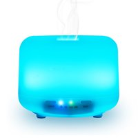 Wholesale Changing Keyboard Settings - Essential Oil Diffuser 500ml Aroma Humidifier with Time Setting and Color LED Lights Changing