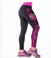 Wholesale Fitness Owl - 2016 NEW Women's Sport Pants Fashion Printed Owl Outdoor Yoga Fitness JoggingTight Pants Casual Quick Drying Women Leggings