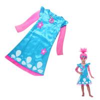 4t halloween kostüme großhandel-2017 neue Weihnachten Kostüme Für Mädchen Party Röcke Kinder Kleider Für Mädchen Net Garn Langarm Für Jugendliche Kinder Kleidung