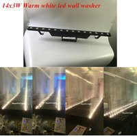 All'ingrosso- DunFly DuanFei Light 14x3W bianco caldo wall washer led / wall washer lineare
