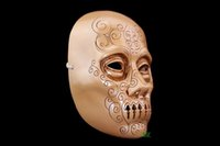 Wholesale Full House Children - Brand New Halloween Lucius Malloy MaskThe Movie Harry Potter VS Death Eaters Theme Resin Masks Masquerade House Party Cosplay Props