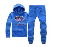 diamant-sweatshirt kapuzenpulli großhandel-s-5xl Trainingsanzug Diamond Supply Trainingsanzug Plus samt Mens Hoodies und Sweatshirts Sport Mann Hoody männlich 22 FARBEN