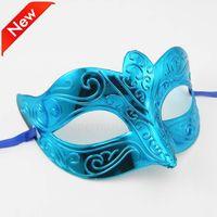 Wholesale Glitter Masks - DHL Shipping Free Promotion Selling Party Mask With Gold Glitter Mask Venetian Unisex Sparkle Masquerade Venetian Mask Mardi Gras Costume