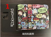 Wholesale Anime Girl Big - Coin Purse Anime Cartoon Wallet Rick And Morty Men Women's Wallets Gift Boy And Girl Purse With Coin Pocket 11*9cm