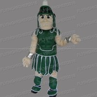 Wholesale Brave Dress - Higher quality general brave Mascot Costume adults christmas Halloween Outfit Fancy Dress Suit EMS Free Shipping