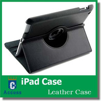 Wholesale 360 Degree Rotating PU Leather Flip Stand Case For iPad Mini Retina Mini iPad th air Case