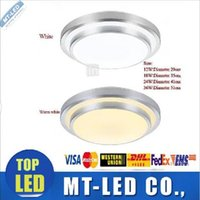 Wholesale Glasses Ligh - Led ceiling downlight 8w 12w 15w 18w 23w 36w corridor lights 85-260V INDOOR lamps 3 year Warranty led down lights   Bedroom   Kitchen ligh