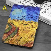 Wholesale Ebook Case Cover - For Paperwhite123 Kindle 558Kindle Protective Cover Leather Case Ebook Cover E-book Clamshell Shell Ultra Thin Hibernation Cartoon Colorful