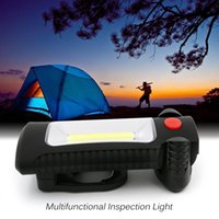 Outdoor Indoor Portable Emergency LED Camping Lantern Light Water Resistant Mini Hand Torch Lâmpada suspensa com ímãs