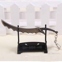 Wholesale Master Yi - League Of Legends (LOL) Master Yi High Quality Beauty Broadsword Weapon Model Metal Pendant Key Ring Chain