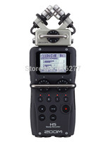 Wholesale Zoom Handheld Digital Recorder - Wholesale-ZOOM H5 professional handheld digital recorder Four-Track Portable Recorder H4N upgraded version Recording pen