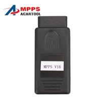 Wholesale Edc16 Peugeot - Professional Mpps v16 ECU Chip Tuning MPPS V16 Support Multi-Languages MPPS 16 For EDC15 EDC16 EDC17 MPPSV 16 Ecu flasher Free Ship