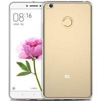 Wholesale Max Skin - High Quality Transparent Ultra Thin 0.4mm TPU Clear Crystal Case Skin Cover Protector For Xiaomi Mi Max 2