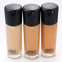 Wholesale makeup liquid face - M@c Makeup Studio Fix Foundation Matchmaster Foundation SPF 15 Face Liquid Foundation NC15 NC20 NC25 NC30 NC35 NC40 DHL Shipping