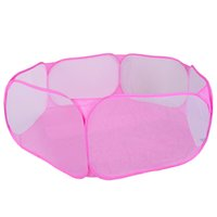 Wholesale Wholesale Inflatable Tents - Wholesale-Free Shipping 120cm Pink Kids Play Tent Pool Children Tent Ball Pool Baby Toys Outdoor Indoor Fun & Sports Lawn Tent