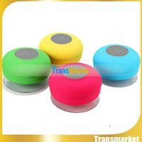 Wholesale Bluetooth Mini Speaker Water - BTS06 Bluetooth Speaker Waterproof Subwoofer Wireless Speakers Car Handsfree Call Voice Box for Car Handsfree Call SmartphoneBTS06 Water Res