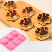 1 pz Lovely Dog Cat Zaw Fondant Sugarcraft gelatina pudding Muffa Del Cioccolato Cottura Al Forno Cucina ZH785