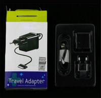 ingrosso laptop power uk-Per Samsung Tablet Charger Set 5V 2A US EU UK Power Travel Adapter Caricatore portatile da muro per la casa per Galaxy Tab P1000 P5100 P3100 P6800 2019