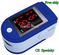 blue cms - 15 blue hot brand FDA CE OLED Medical Fingertip Pulse Oximeter Blood Oxygen SpO2 saturation monitor CMS DL