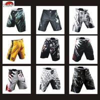 Wholesale Muay Thai Pants - Suotf Mma Sparring Sports Training Muay Thai Boxing Pants Muay Thai Boxing Shorts Thai Clothing Kickboxing Shorts Kickboxing