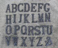 ingrosso lettere di numeri antichi-40 pezzi rustico marrone metallo lettera alfabeto a-z, 0-9 antico ghisa casa numeri civici numeri lettere decorazioni per la casa vintage parete ornato