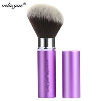 Wholesale highlight hair for sale - Vela Yue Retractable Angled Face Blend Contour Highlight Blush Makeup Brush Beauty Tool Make Up Brush Tools Cosmetic