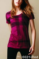 Wholesale Cheap Lady T Shirts - 2016 Luxury Designer Women's 100% Cotton T-Shirts Famous Brand Ladies Fashion Summer Tee Shirts Casual Classic T Shirt Cheap Clothes S-