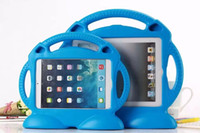 Wholesale Covers Para Ipad - Case for Apple ipad 2   3   4 Thomas handgrip stand Shock Proof EVA full body cover Kids Children Safe Silicone para shell coque