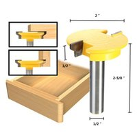 Wholesale Wood Chisels Set - 1 2 Inch Shank Rail Stile Router Bit Shaker Woodworking Chisel Cutter Set