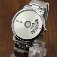 Wholesale Paidu Brand - Luxury Brand Student Watch Full Steel Quartz Clock Digital casual Watch fashion Sport Watch Men Watches relogio masculino PAIDU