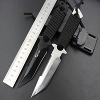 Wholesale Gear Tie - EDC Pocket Knife Leg Wrapping Tie Waist Knives Fixed Blade Rescue Knife Camping Utility Outdoor Gear Knife Xmas Gift F181L
