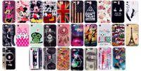 Wholesale Iphone Soft Monkey Case - Cartoon IMD Soft TPU Case For Iphone 8 8TH 7 Plus IPhone7 OWL Retro USA UK Flag Mickey Mouse Hope Believe Love Cover Elephant Camera Monkey