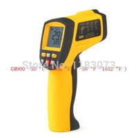 Wholesale Infrared Pointer - Non-Contact Digital IR Laser Infrared Pointer Thermometer Precise -50 Degree to 900 Degree Gun GM900 Free Shipping