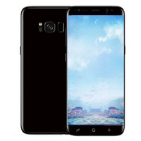 Wholesale Single Sim Card Smartphones - Goophone S8 S8+ android 7.0 unlocked 5.8inch smartphones 1g 4g shown 4G LTE 64G ROM 3G Cell phones