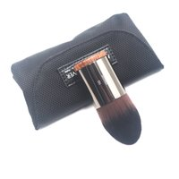 Wholesale combine metal - New Arrival Medium Synthetic Brush No .110 Combines The Precision Of A Traditional Foundation Brush Kabuki Makeup Brushes